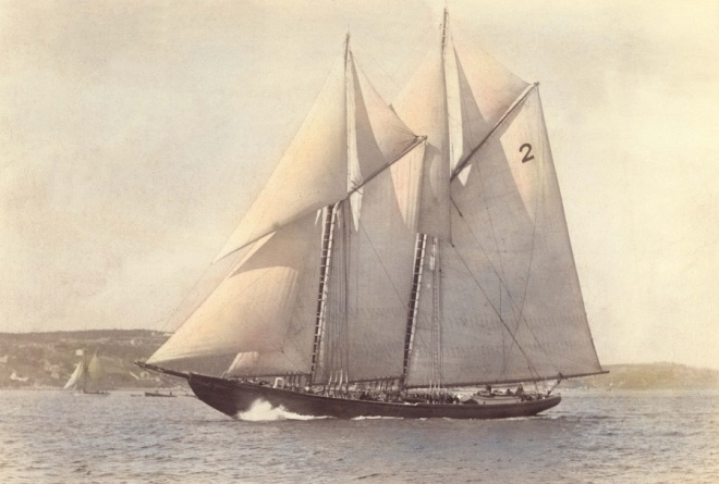 1921 Schooner Blunose
