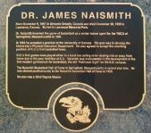 Naismith Historical marker
