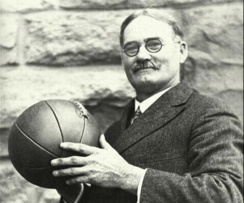 Naismith with ball