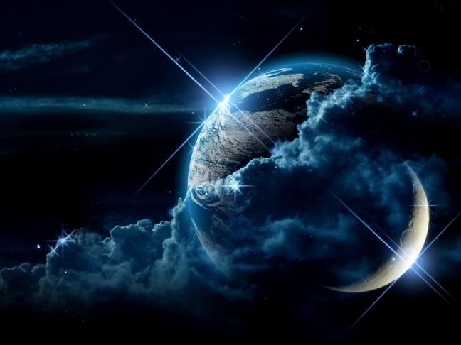 starsmoonplanet