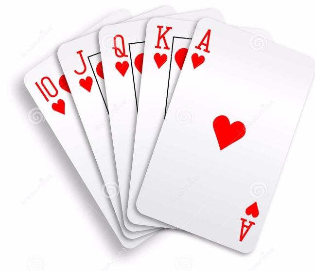 poker hearts-royal-flush-playing-cards